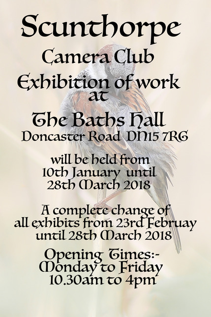 Exhibition at Baths Hall