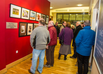 Opening Night of the Exhibition